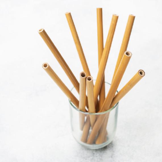 Экологически чистые соломинки